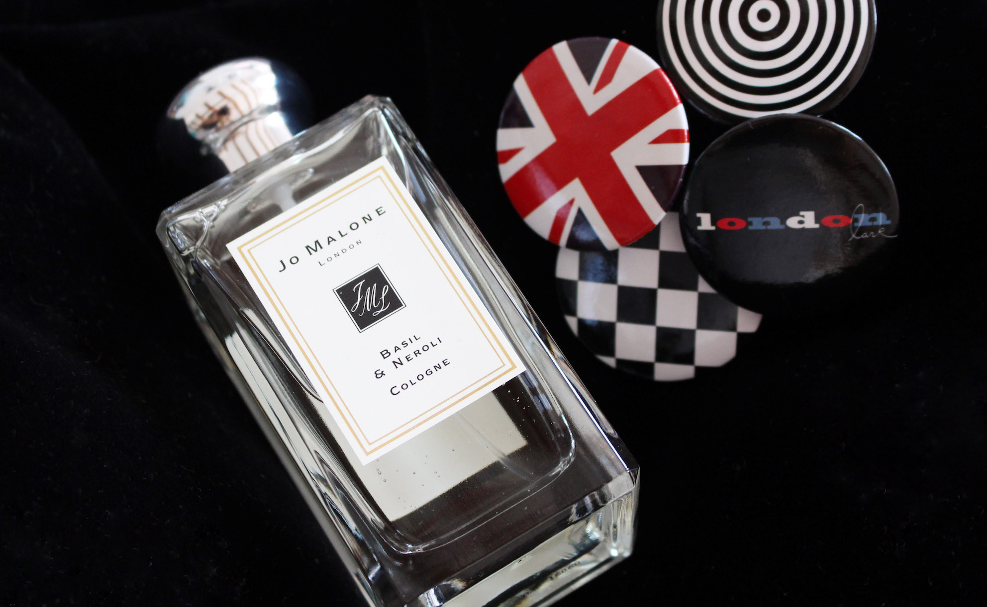 floortjeloves, jo malone, beauty, perfume, fragrance, jo malone basil & neroli, cap, stripes, retro, london