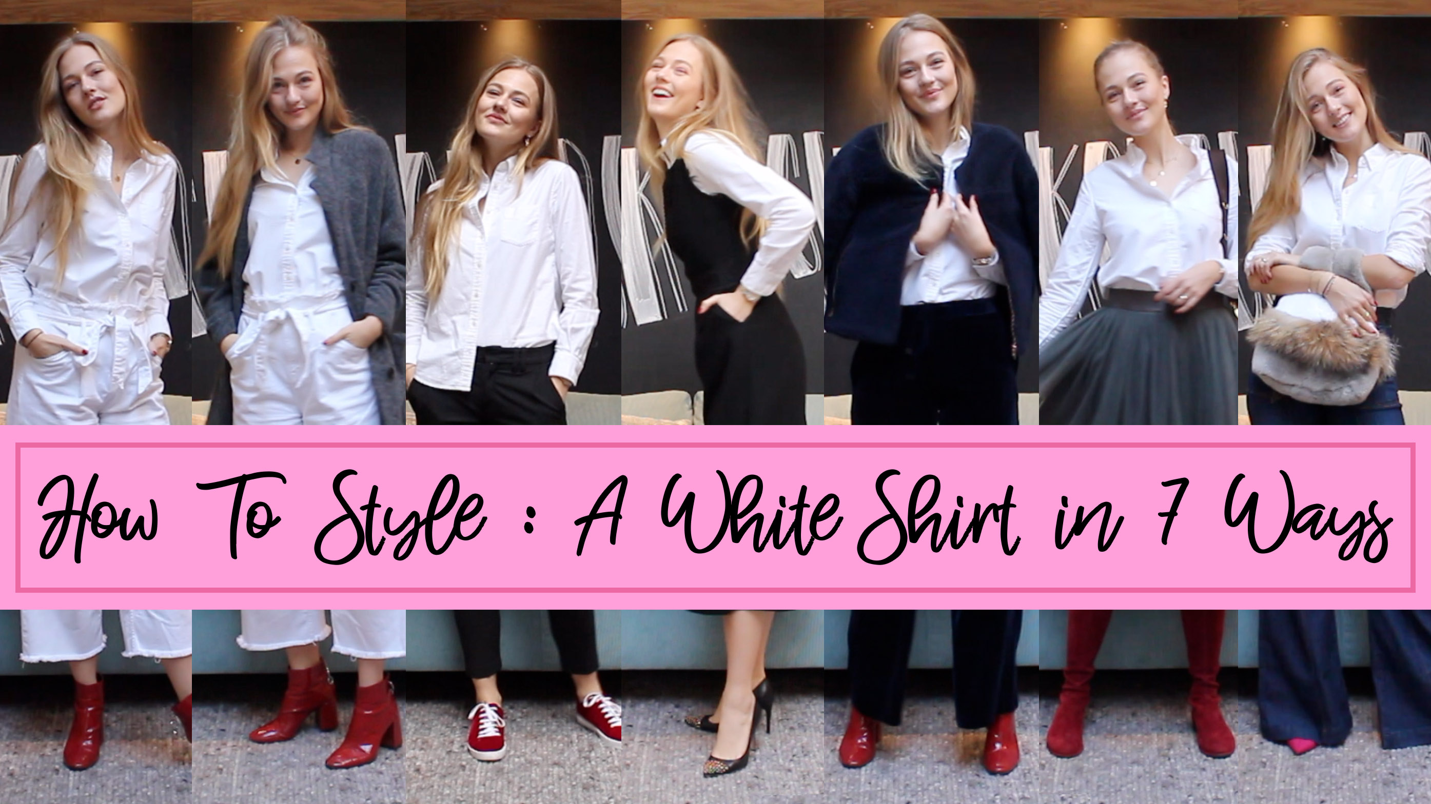 Floortjeloves, how to, how to style, white shirt, how to style a white shirt, Gant, Gant Oxford Shirt, Gucci, Stuart weitzman, asos, Zara, j.crew, drykorn, shoes of prey, American vintage