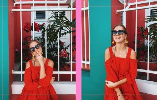 Floortjeloves, curacao, Curacao, red dress