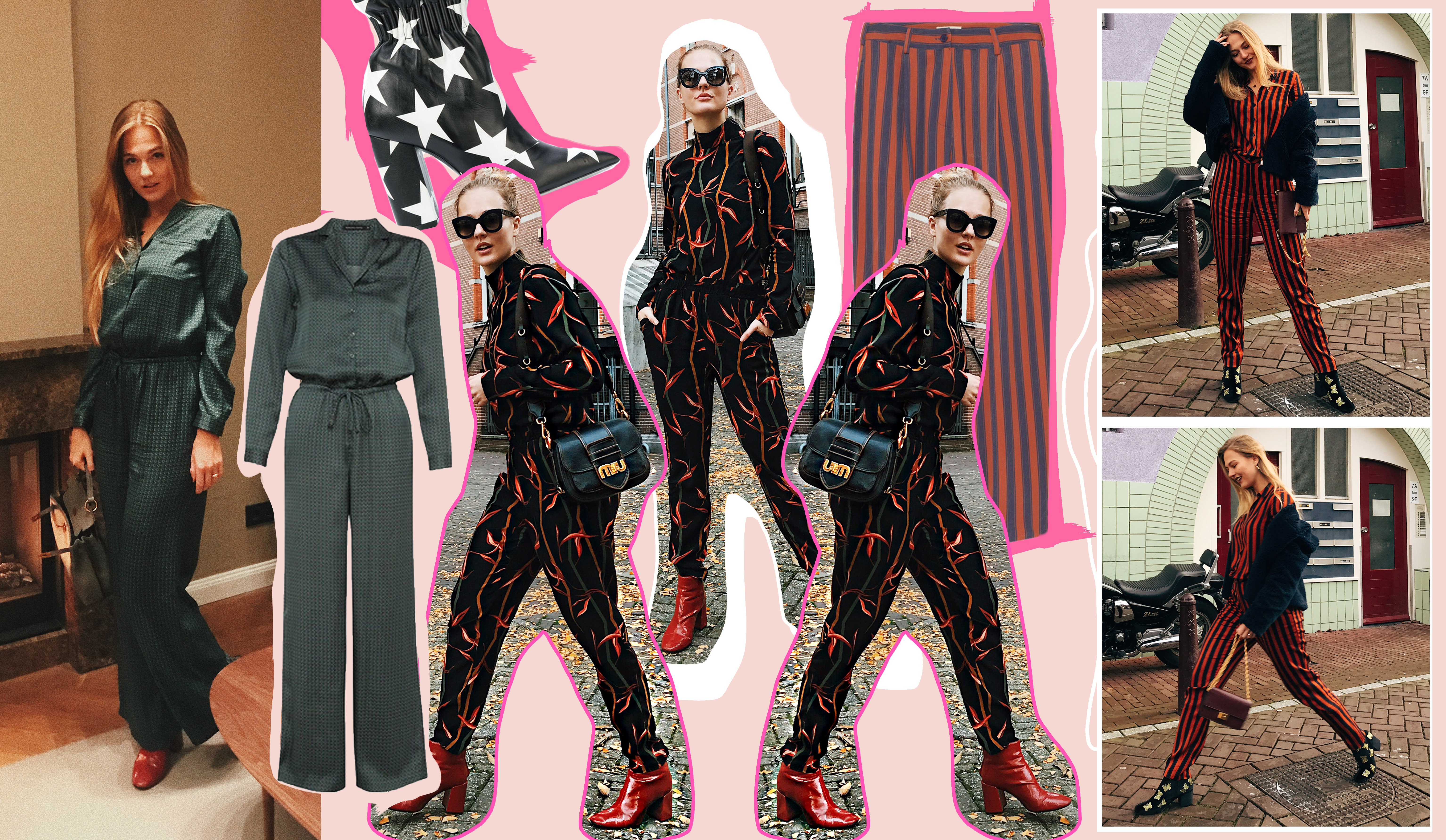 floortjeloves, prints, printed all the way, print on print, y.a.s., yas, American vintage, monoprix, asos, topshop, river island, shop, shopping, wishlist