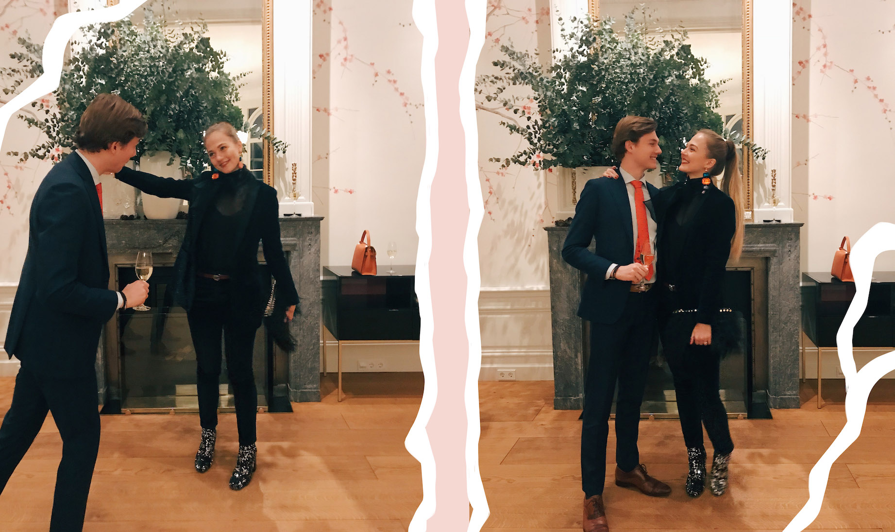 floortjeloves, what I wore, what I wore this christmas, Christmas, x-mas, christmas outfit, dondup, primark, statement earrings, H&M, asos, Zara, Gucci, Massimo Dutti, Family, suit