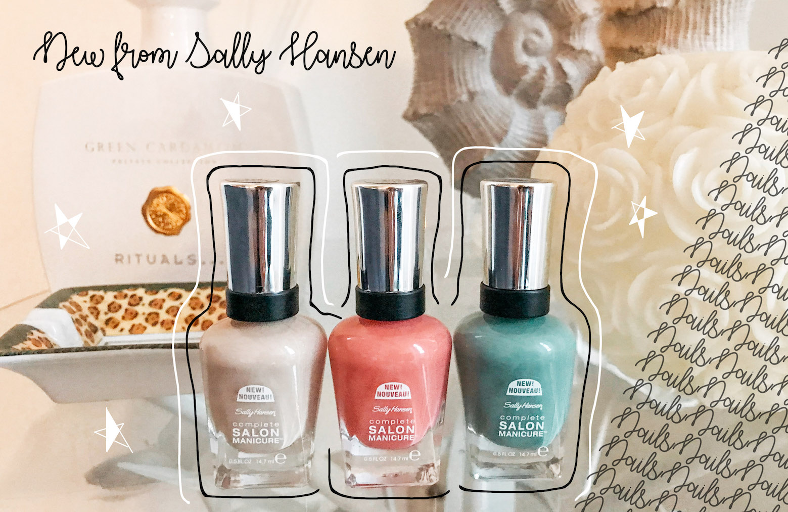 NEW SPRING COLORS BY SALLY HANSEN - Floortjeloves
