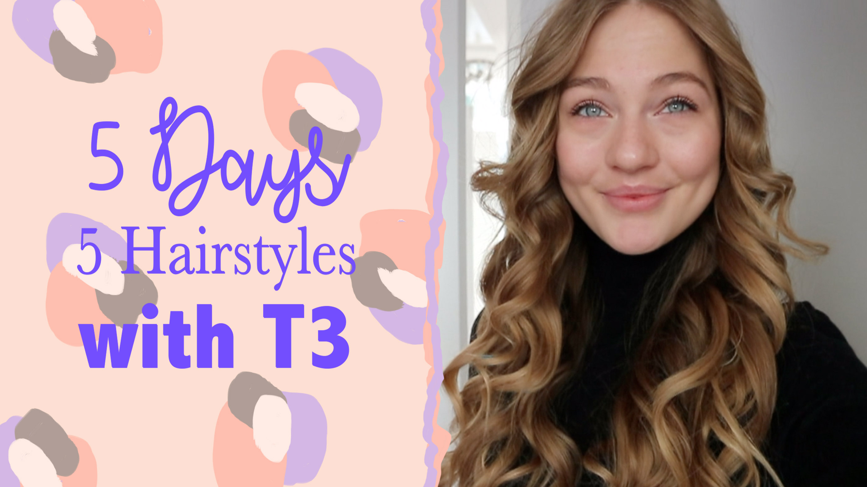 floortjeloves, hair styles, hairstyles, hair tutorial, t3, t3 micro, t3 review
