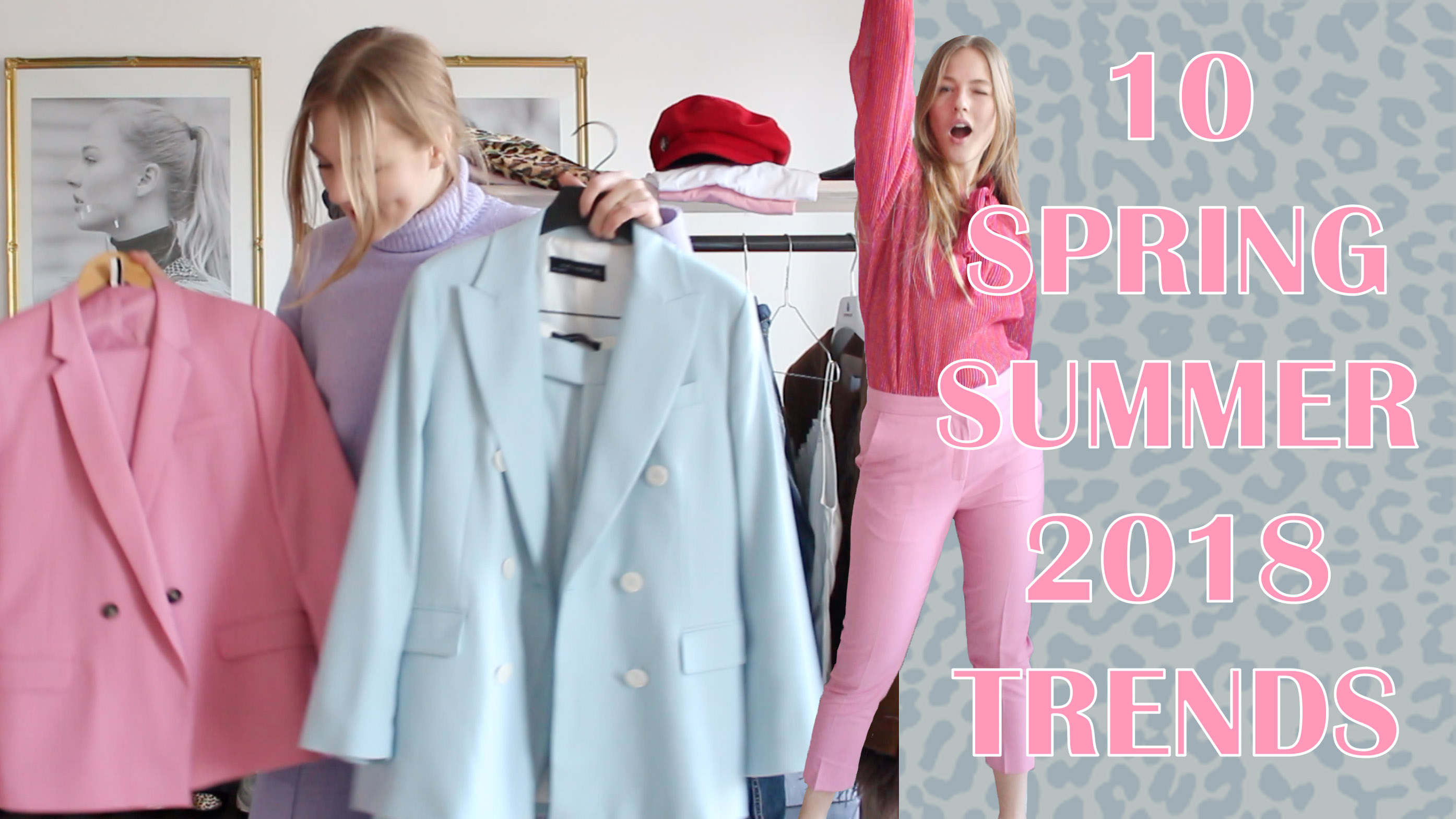 floortjeloves, styling, video, styling video, zara, suit, pastel suit, pastel suits, trends, ss trend, spring summer 2018 trends, spring summer trends, spring trends, summer trends