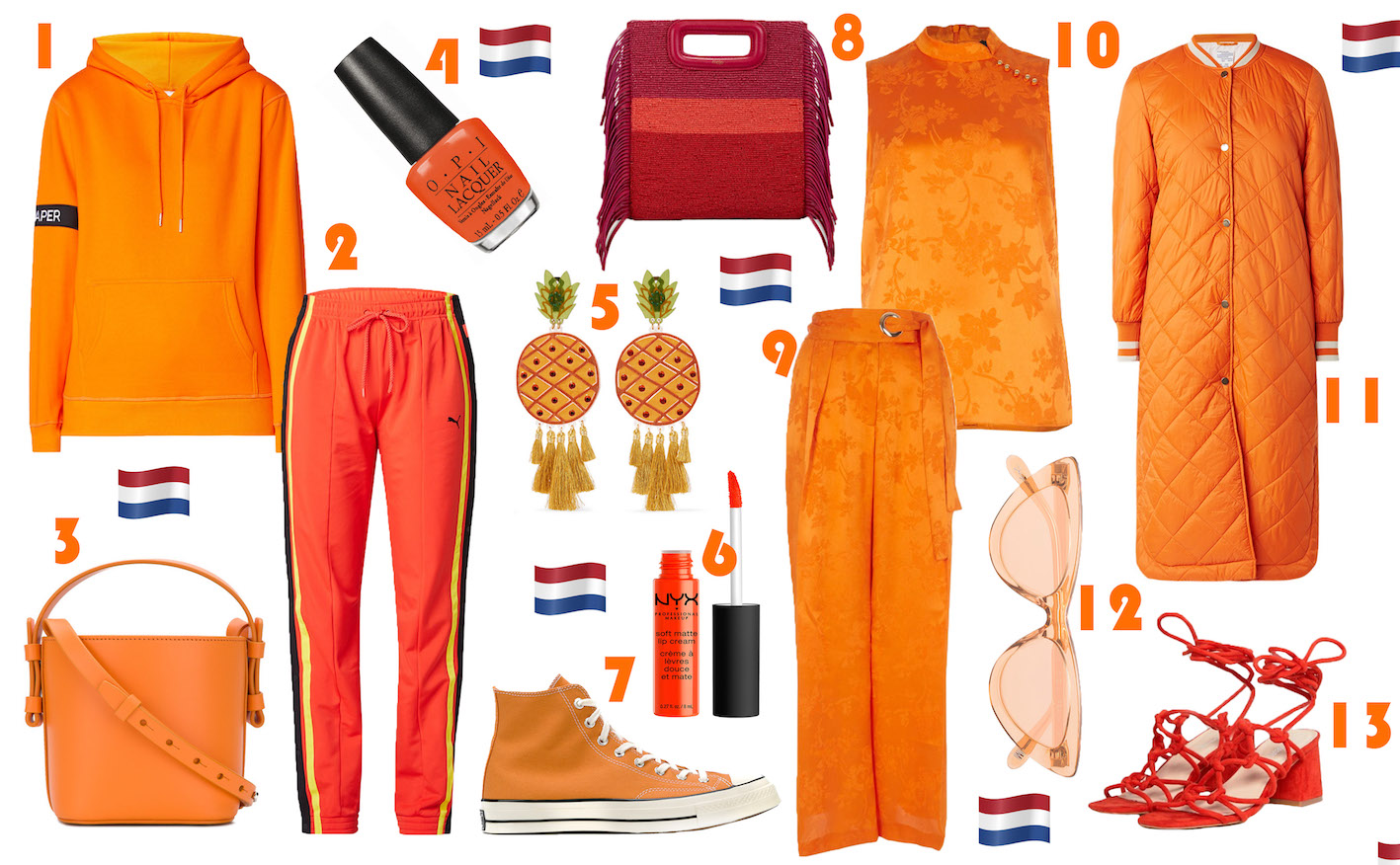 FLOORTJELOVES, kingsday , kingsday 2018, kingsday wishlist, shop, shopping, wishlist, koningsdag, oranje, orange