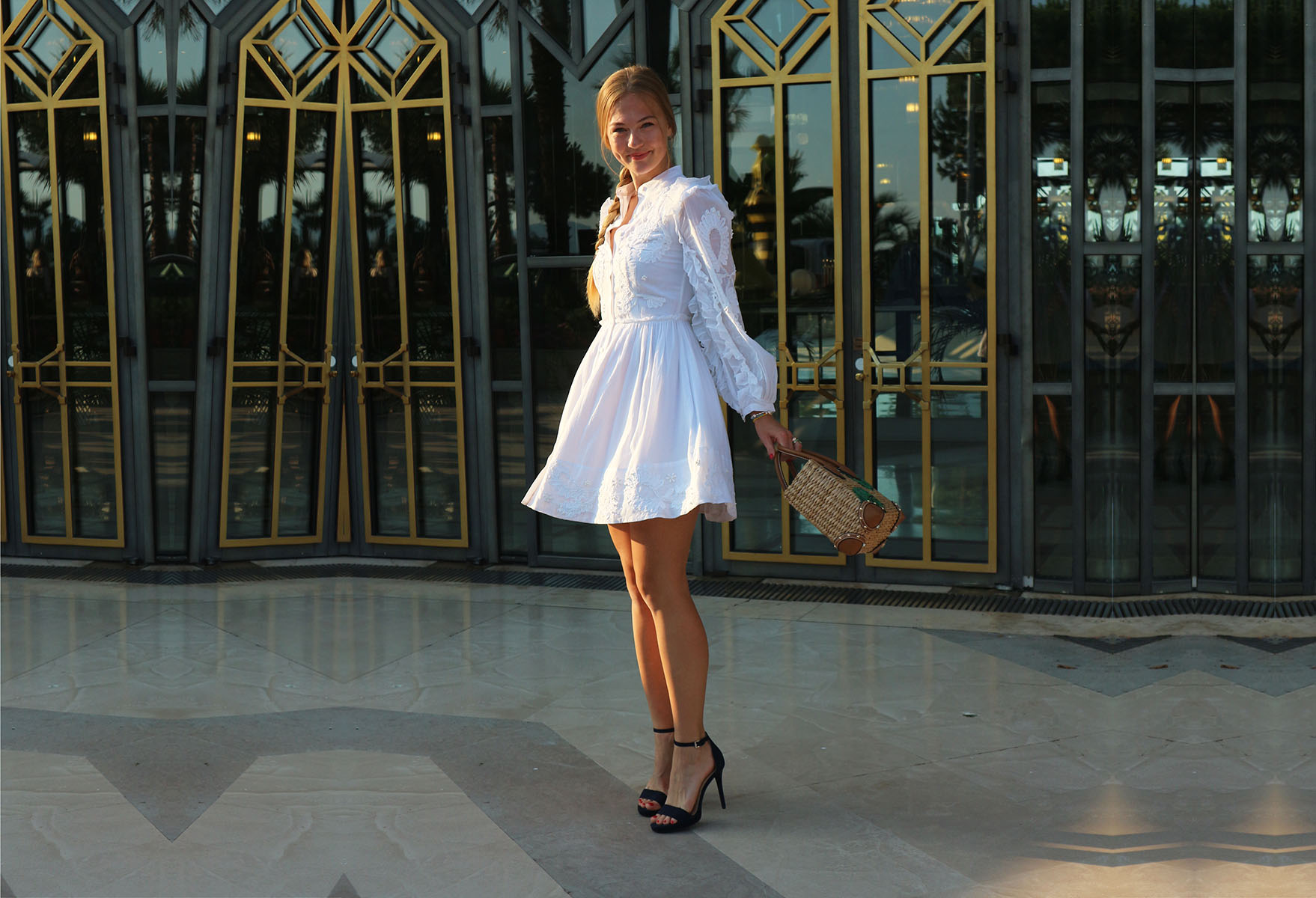 floortjeloves, dreamy dress, white dress, dreamy white dress, Michael kors, cannes