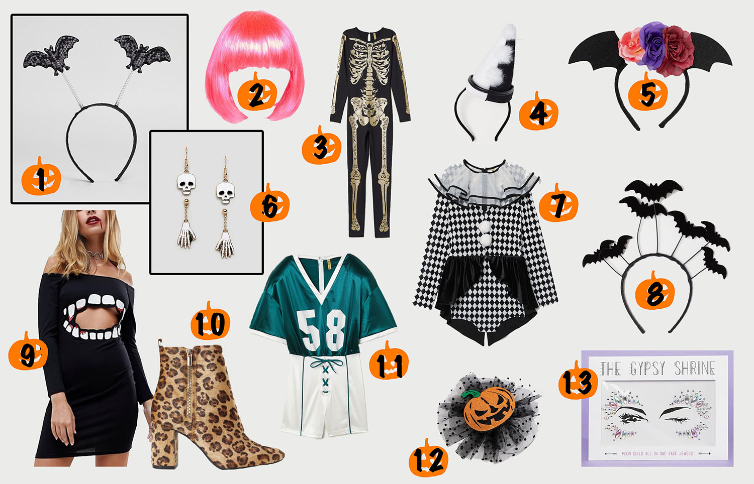 floortjeloves, dress scary, halloween, halloween party, asos, H&M, costume, party, wishlist