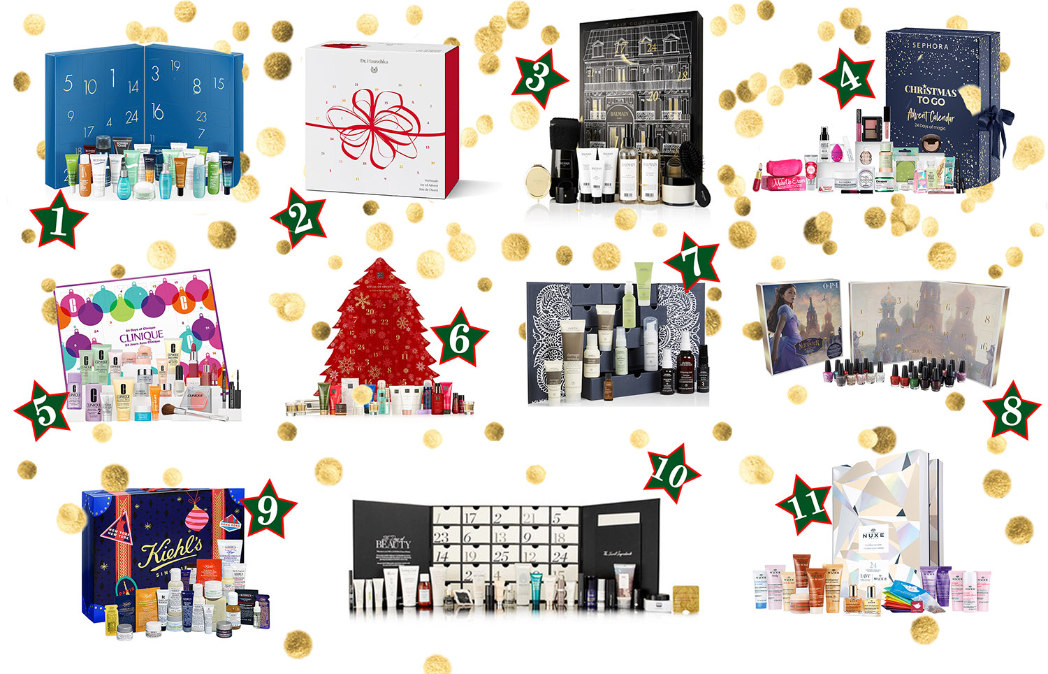 advent calendar, advent, holiday calendar, beauty advent