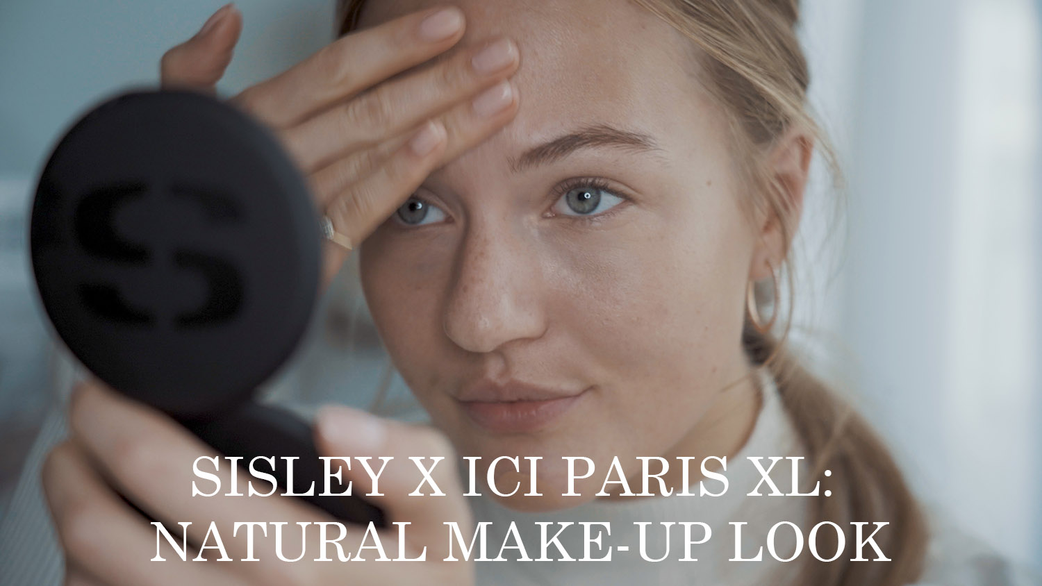 floortjeloves, sisley, ici paris xl, make-up tutorial, tutorial, natural make-up look, natural make-up tutorial, natural make-up