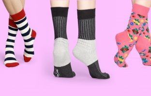 Happy socks, a sustainable fashion brand