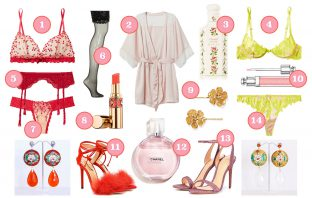 je suis flore, Valentine's Day, Valentine's Day gift, gift guide, lingerie