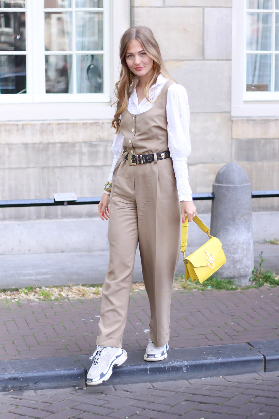 floortjeloves, balenciaga, balenciaga triple s, joop, joop jumpsuit, Laura Ashley, Edward achour Paris, J.W. Anderson, jw Anderson, vintage, sustainable