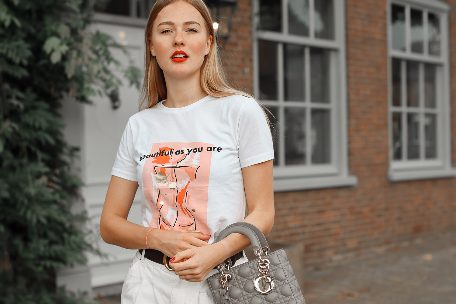 floortjeloves, beautiful as you are, dior, lady dior, dior bag, christian dior, chloe, Chloe Rylee, Chloe boots, Zara, Gucci, icr8, slogan shirt, slogan t'shirt