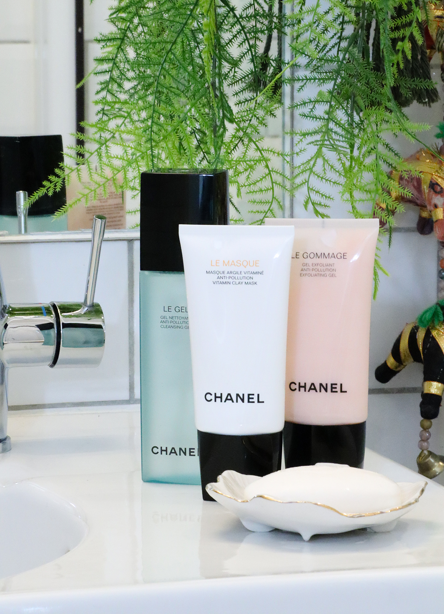 floortjeloves, chanel, chanel skincare, chanel skincare routine, skincare routine, beauty routine, my chanel skincare routine